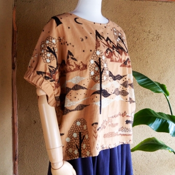 marble SUD EMB Hometown Blouse